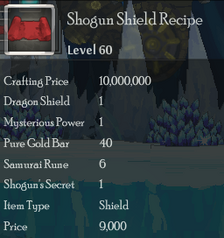 Shogun Shield Rec