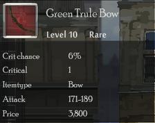 Green Trule Bow