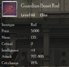 Guardian Beast Rod