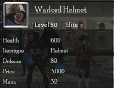 Warlord helm
