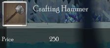 Crafting Hammer