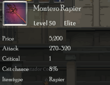 Montero Rapier