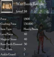 War Boots Rec