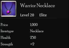 Warrior Necklace
