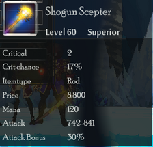 Shogun Scepter