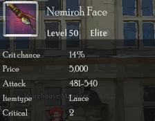 Nemiroh Face