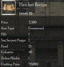 Hatchet Rec