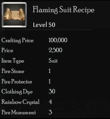 Flaming Suit Rec