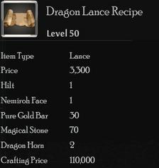 Dragon Lance Rec