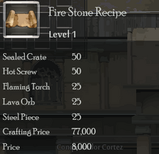 Fire Stone Rec
