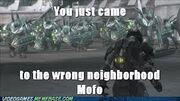 Wrong neighbourhood
