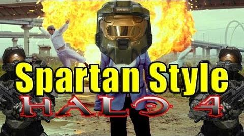 """""""Spartan Style"""" A Parody of PSY's Gangnam Style (Halo 4)"""