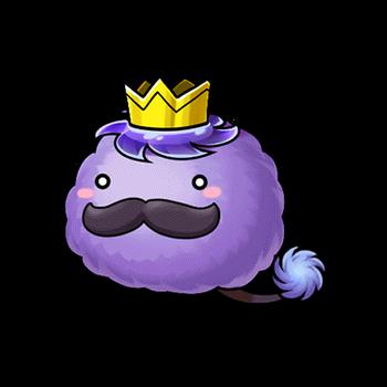 Gear-Purple Passa King Render