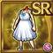Gear-White Summer Dress Icon