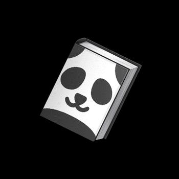 Gear-Monochrome Book Render