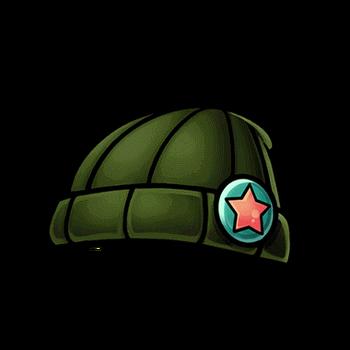 Gear-Green Knitted Cap Render