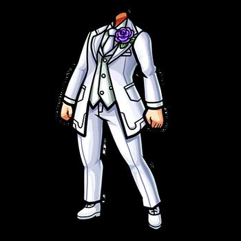Gear-White Tuxedo Render