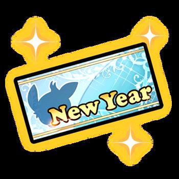 Item-New Year SSR Gear Ticket Render