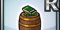 Classic Barrel (Green) (Furniture)