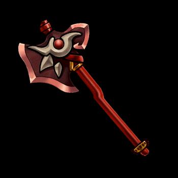 Gear-Crimson Axe Render
