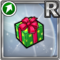 Gear-Medium Green Present Icon
