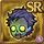 Gear-Zombie Head Icon