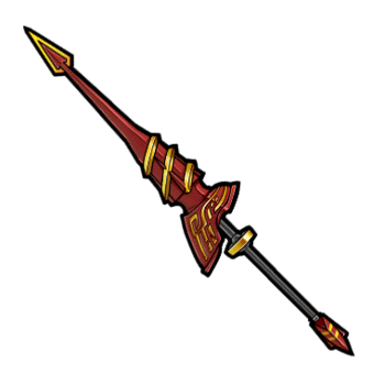 Gear-Captain's Dragoon Lance Render