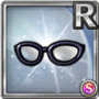 Gear-Black-rimmed Glasses Icon