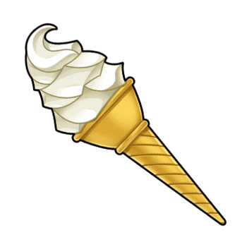 Gear-Vanilla Soft Serve Render