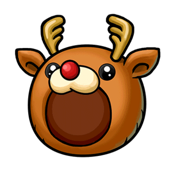 Gear-Reindeer Hat Render