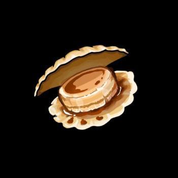 Gear-Soy Sauce Scallop Render