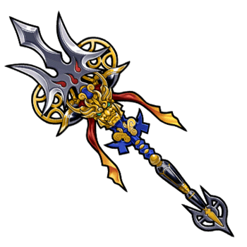 Gear-Dazzling Devil Lance Render