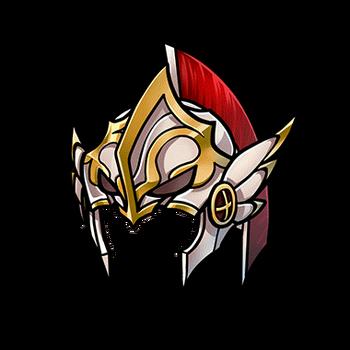 Gear-Holy Knight Helmet Render
