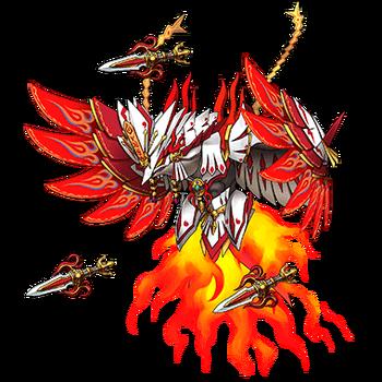 Gear-Kagutsuchi, Flame God Render