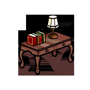 File:Furniture-Classic Desk (Umber) Render.png