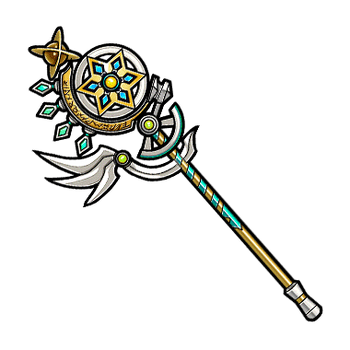 Gear-Staff of the Fates Render