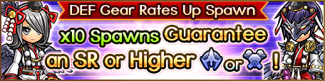 Spawn-DEF Gear Rates Up Tengu