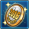 Item-2016 New Year Medal Icon