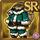 Gear-Green Santa Costume Icon