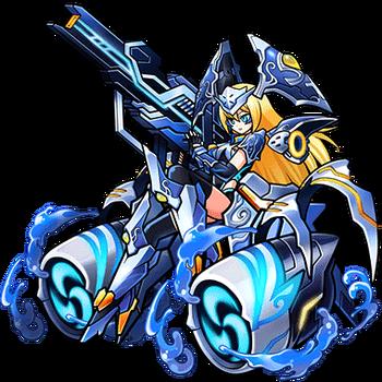 Gear-Poseidon God of the Sea Render