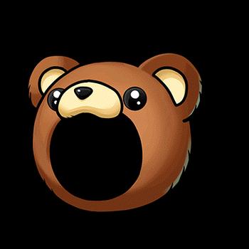 Gear-Bear Head Render