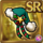 Gear-Green Santa Hat Icon