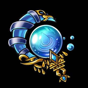 Gear-Azure Spirit Orb Render