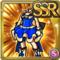 Gear-Blue Princess Dress Icon