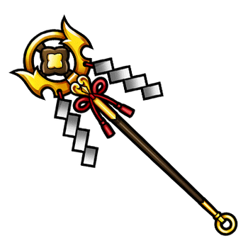 Gear-Divine Tree Staff Render