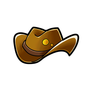 Gear-Brown Ten-Gallon Hat Render