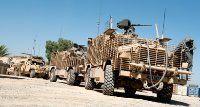 Mastiff convoy 410