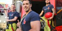 Firefighter Jeff Goldman