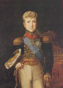 Pedro II aos 14 anos