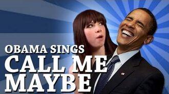 Barack Obama Singing Call Me Maybe by Carly Rae Jepsen
